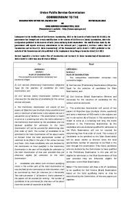 2013 CSP DATED OF CIVIL SERVICES EXAMINATION,
