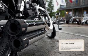 2013 HARLEY DAVIDSON GENUINE MOTOR PARTS & ACCESSORIES. screamin eagle