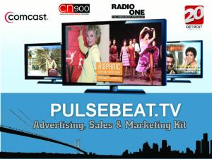 2013 Media Kit PULSEBEAT.TV Media Kit
