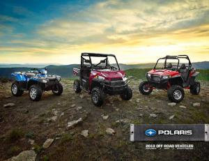 2013 OFF ROAD VEHICLES