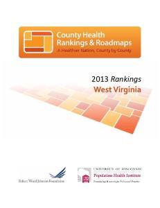 2013 Rankings West Virginia