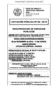 2013 RECUPERACION DE ESPACIOS