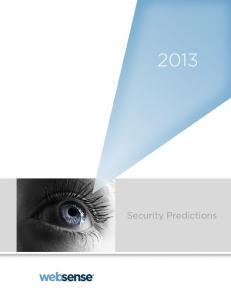 2013 Security Predictions 1