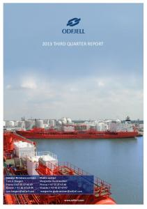 2013 THIRD QUARTER REPORT