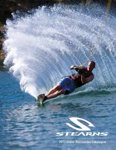 2013 Water Recreation Catalogue