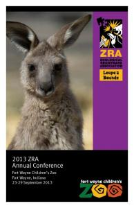 2013 ZRA Annual Conference