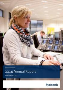 2014 Annual Report. Sydbank Group