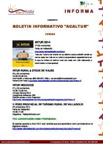 2014 BOLETIN INFORMATIVO