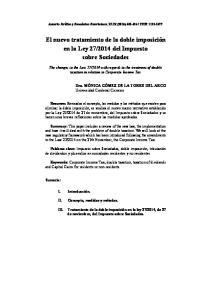 2014 del Impuesto sobre Sociedades