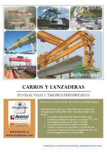 2014 Dovelas, vigas y tableros prefabricados Procesos constructivos de tableros prefabricados