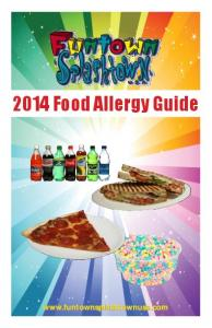 2014 Food Allergy Guide