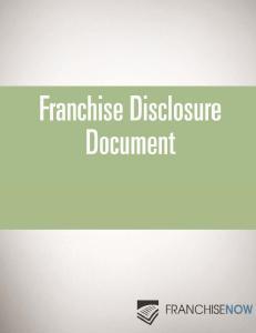 2014 FranchiseNow FRANCHISE DISCLOSURE DOCUMENT 1