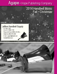 2014 Handbell Music Fall Christmas