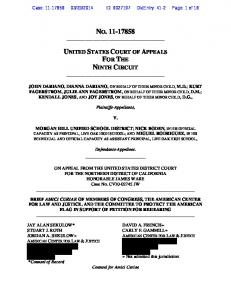 2014 ID: DktEntry: 41-2 Page: 1 of 18 NO Plaintiffs-Appellants,