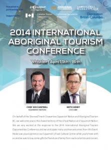 2014 INTERNATIONAL ABORIGINAL TOURISM CONFERENCE