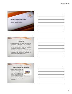 2014. Leitura e Produção de Texto. O Contexto. Todo Texto tem um Contexto. Tema 2: Texto e Contexto