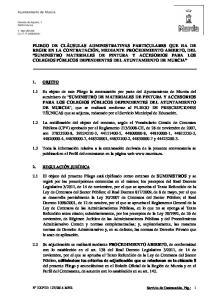 2014 MNR Servicio de Contratación, Pág.: 1. Ayuntamiento de Murcia. Glorieta de España, Murcia
