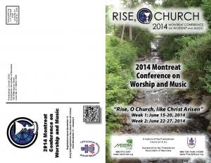 2014 Montreat Conference on Worship and Music