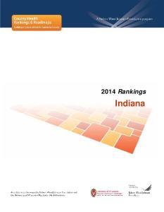 2014 Rankings. Indiana