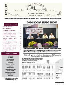 2014 SOOGA TRADE SHOW