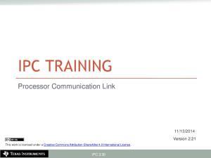 2014. Version 2.21 IPC 3.30