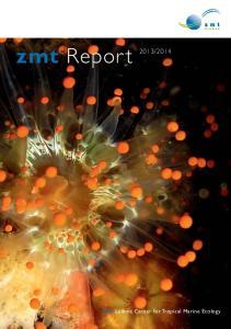 2014 zmt Leibniz Center for Tropical Marine Ecology