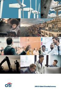 2015 Citi Global Citizenship Summary