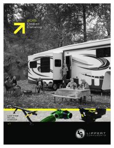 2015 Dealer Catalog. Look inside for new products