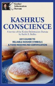 2015 GUIDE TO RELIABLE KOSHER SYMBOLS & FOOD NEEDING NO CERTIFICATION
