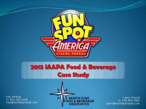 2015 IAAPA Food & Beverage Case Study