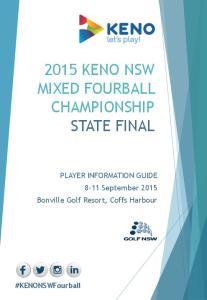 2015 KENO NSW MIXED FOURBALL CHAMPIONSHIP STATE FINAL
