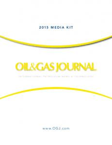 2015 Media Kit. international petroleum news & technology