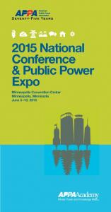 2015 National Conference & Public Power Expo