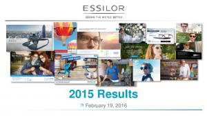 2015 Results. February 19, 2016