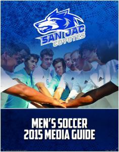 2015 San Jacinto College men s soccer Roster