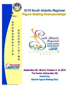 2015 South Atlantic Regional Figure Skating Championships