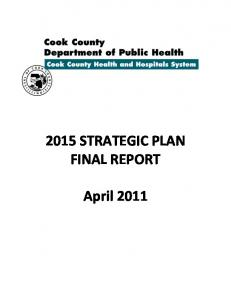 2015 STRATEGIC PLAN FINAL REPORT