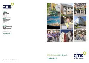 2015 Sustainability Report