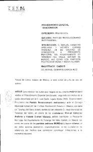 2015. Toluca de Lerdo, Estado de Mexico, a veintinueve de julio de dos mil quince