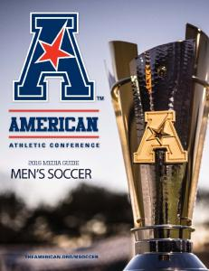 2016 American Athletic Conference Men s Soccer 1