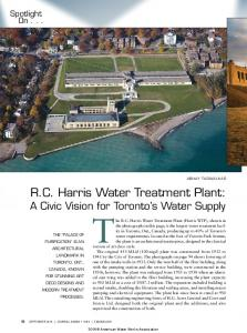 2016 American Water Works Association