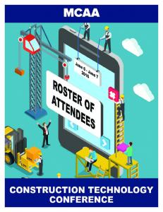2016 Construction Technology Conference Roster of Attendees by State