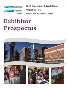 2016 Convention & Trade Show August Knoxville Convention Center