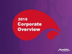 2016 Corporate Overview