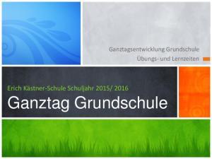 2016 Ganztag Grundschule