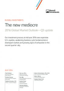 2016 Global Market Outlook Q3 update