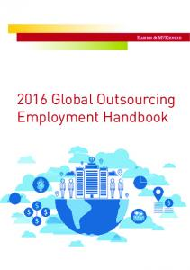2016 Global Outsourcing Employment Handbook