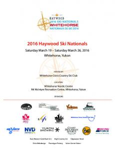 2016 Haywood Ski Nationals