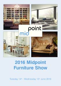 2016 Midpoint Furniture Show