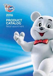 2016 PRODUCT CATALOG. Retail assortment